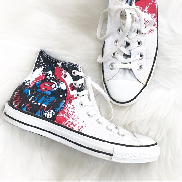 0219308de0 CONVERSE ALL STAR DC HEROES COMIC Sneakers-Size 7